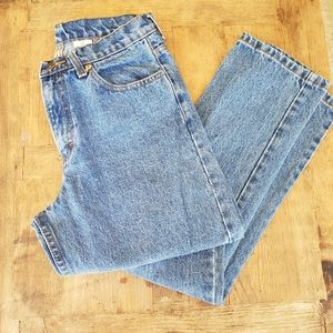 Jordache sz. 9/10 Highwaisted denim jeans straight